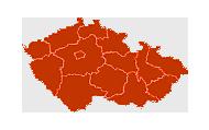 Kontakt - mapa CR